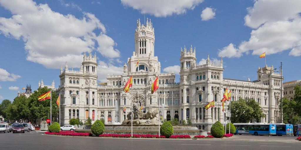 Madridas, rūmai