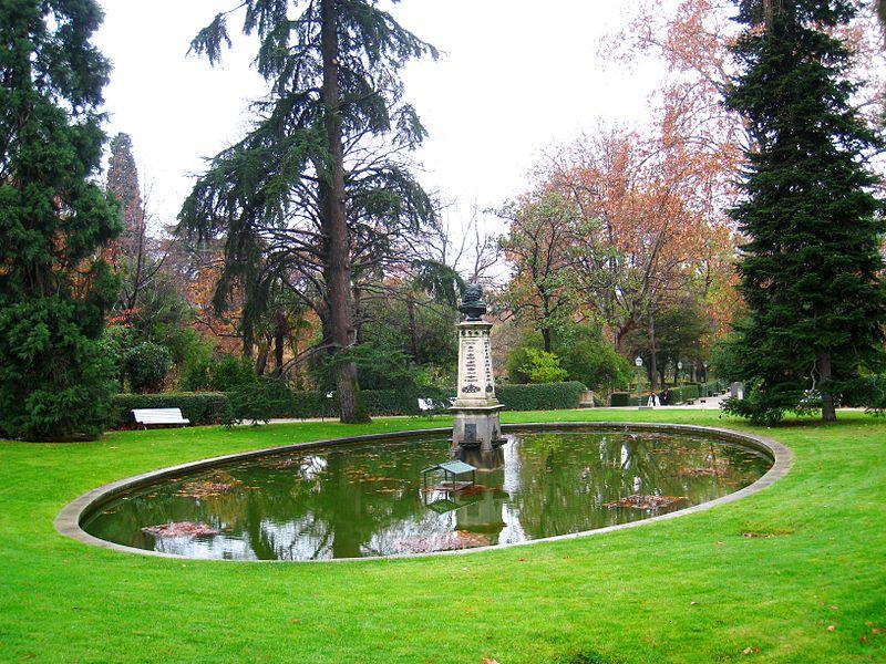 Madridas, botanikos sodai