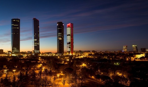 Madridas naktį