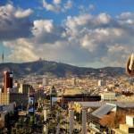 Barselonos panorama