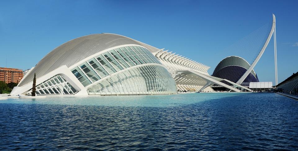 Valensija garsėja architektūra